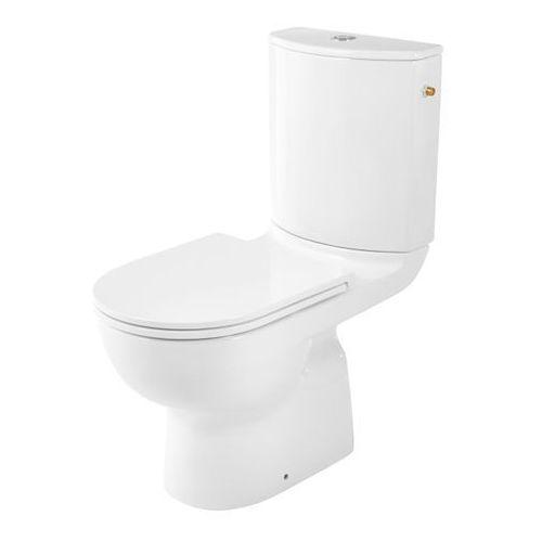 Kompakt WC GoodHome Cavally Slim bezkołnierzowy pionowy 3/6 l z deską wolnoopadającą