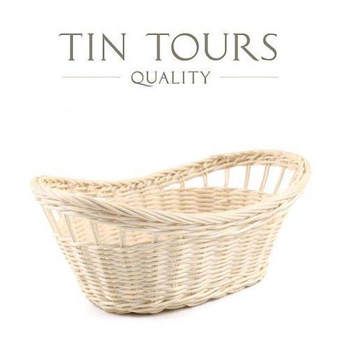 Koszyk rattanowy np. na owoce 25x17x8/10h cm marki Tin tours sp.z o.o.