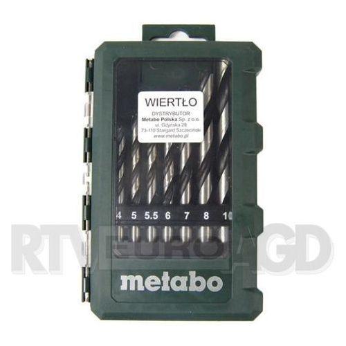 OKAZJA - Metabo 8 wierteł (626705000) (4007430240224)