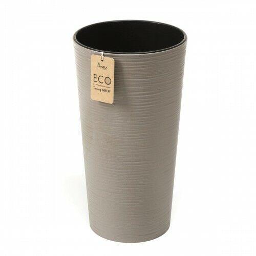 Donica lilia eco 30 cm dłuto szara 105/175-1 marki Lamela