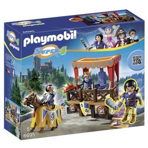 Playmobil SUPER 4 Królewski trybun z alexem 6695 - BEZPŁATNY ODBIÓR: WROCŁAW!