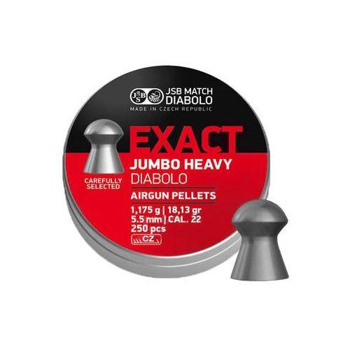 Jsb match diabolo Śrut diabolo jsb exact jumbo heavy 5,52 mm 250 szt.