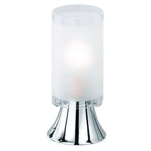 Trio RL Tube R50041001 lampka stołowa biurkowa 1x40W E14 chrom / biały