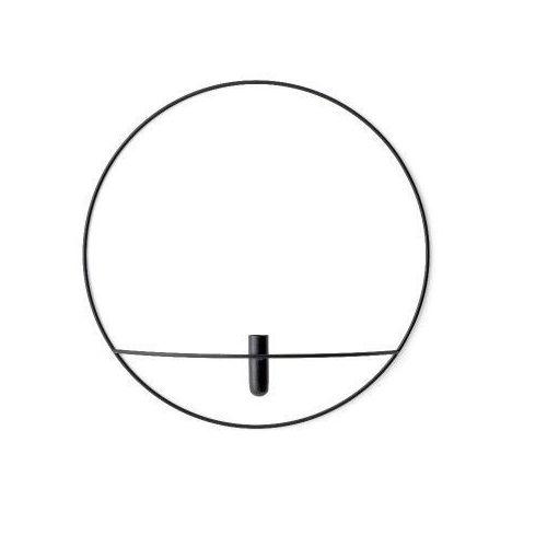 Menu Wazon pov circle ścienny l, czarny -