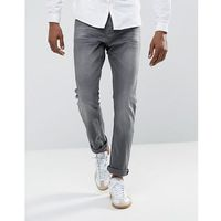 Tom Tailor Slim Jeans With Stretch In Grey Wash - Grey, jeans