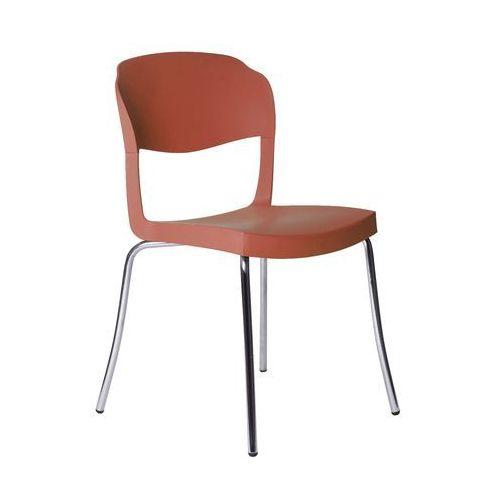 Krzesło evo strass czerwone marki Green