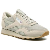 Reebok Buty - cl nylon mu cn6767 light sand/wht/skull grey