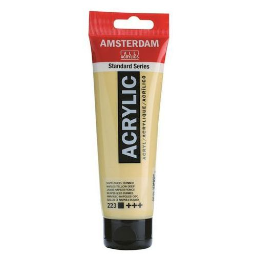 Talens Amsterdam Acryl Farba 120ml 223 Na Yellow D