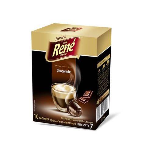 Rene chocolate (kawa aromatyzowana) kapsułki do nespresso – 10 kapsułek marki Nespresso kapsułki