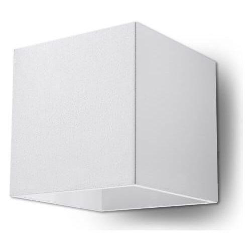 ==WYSYŁKA 48H== Kinkiet Quad 1 SL.0059 Sollux LAMPA w kolorze białym, SL.0059