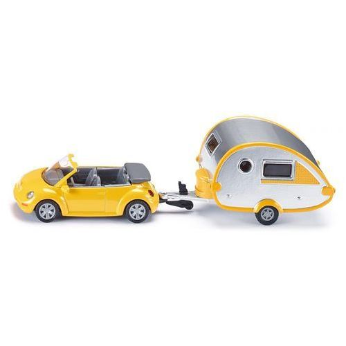 Samochód seria 16 z przyczepą campingową 1629 marki Siku