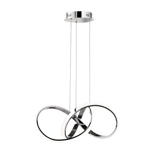 Wofi INDIGO Lampa wisząca LED Chrom, 1-punktowy - Nowoczesny - Obszar wewnętrzny - INDIGO - Czas dostawy: od 2-4 dni roboczych (4003474316659)