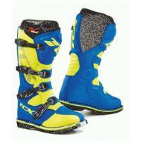 buty x-blast royal blue/yellow fluo, Tcx