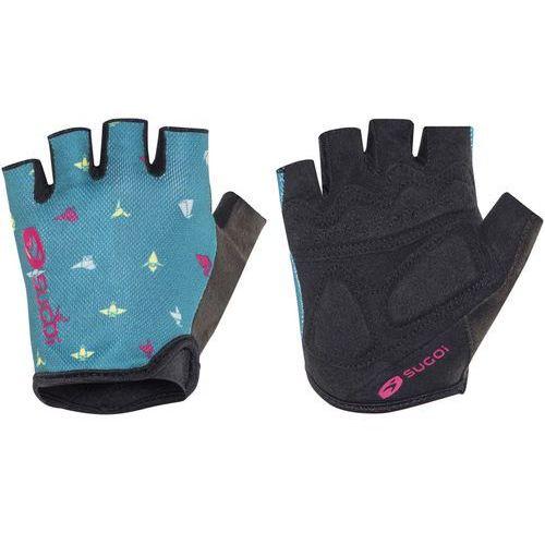 Sugoi classic rękawiczka rowerowa kobiety niebieski m 2018 rękawiczki szosowe