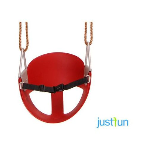 Just fun Hustawka kubełkowa elastyczna - czerwony