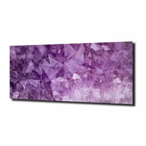 obraz na szkle, Panel szklany Ametyst 120X60