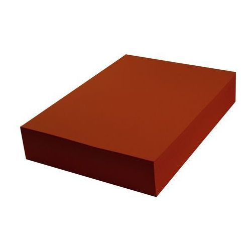 Mazak Papier techniczny kolorowy czerwony ciemny a4 100 ark 270g
