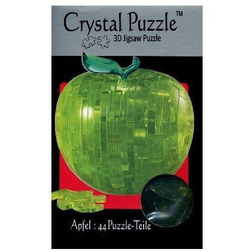Crystal puzzle jabłko zielone