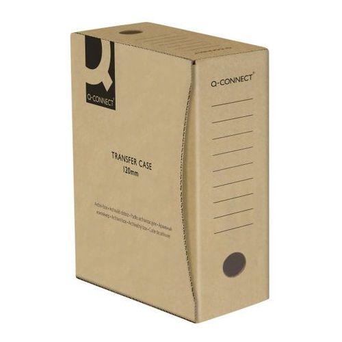 Q-connect Pudło archiwizacyjne , karton, a4/120mm, szare