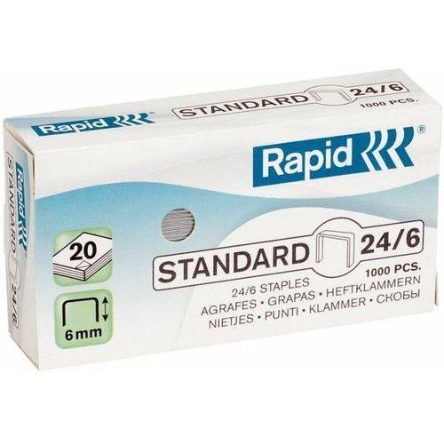 Zszywki RAPID STANDARD 24/6 1000 szt. - X08279