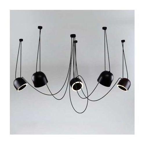 LAMPA wisząca DOBO 9038/E14/CZ/kolor Shilo metalowa OPRAWA modernistyczny zwis, 9038/E14/CZ/kolor