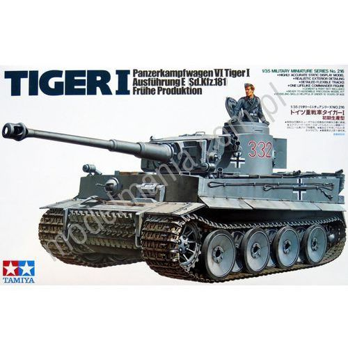 TAMIYA German Tiger I Early Production - Tamiya (4950344995653)