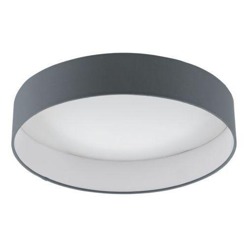 Eglo Plafon palomaro 1 96538 lampa sufitowa 1x18w led antracyt biały (9002759965389)