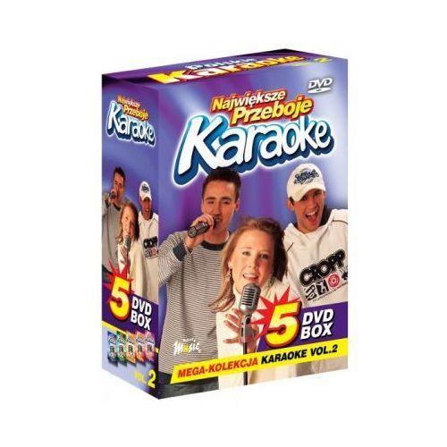 Największe przeboje karaoke vol. 2 - mega kolekcja karaoke (5 płyt dvd) marki Ryszard music