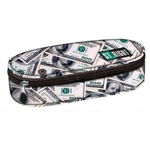 Piórnik saszetka usztywniona Dollars, 5903235617249