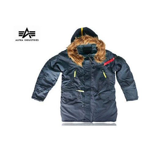 Kurtka pps n-3b parka replica blue marki Alpha industries