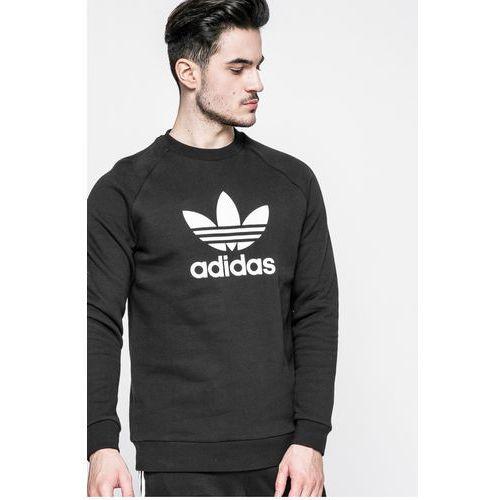 Adidas originals - bluza trefoil crew