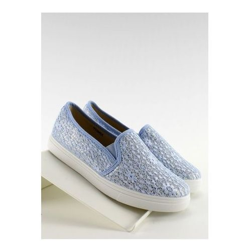 Trampki slip-on model xin07p blue marki Inello