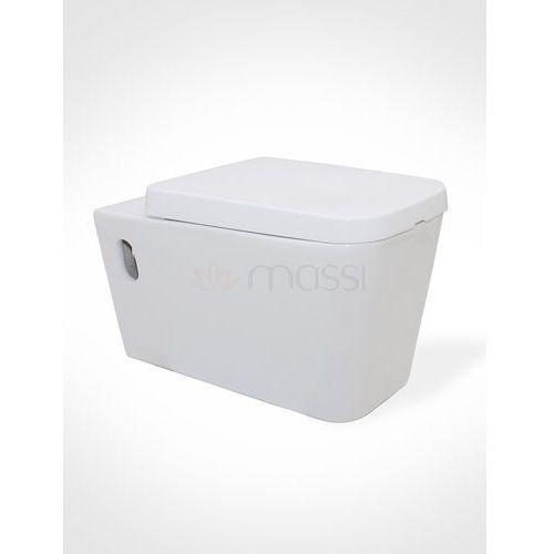Miska wisząca  tringo + deska wolnoopadająca duro (msm-3073du) marki Massi