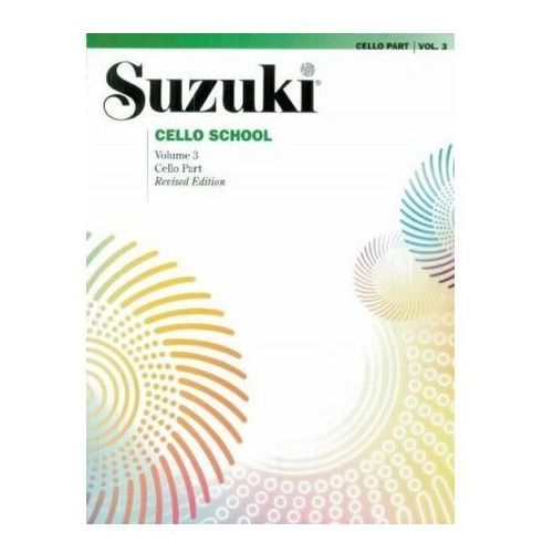 Suzuki Cello School, Vol 3 (9780874874839)
