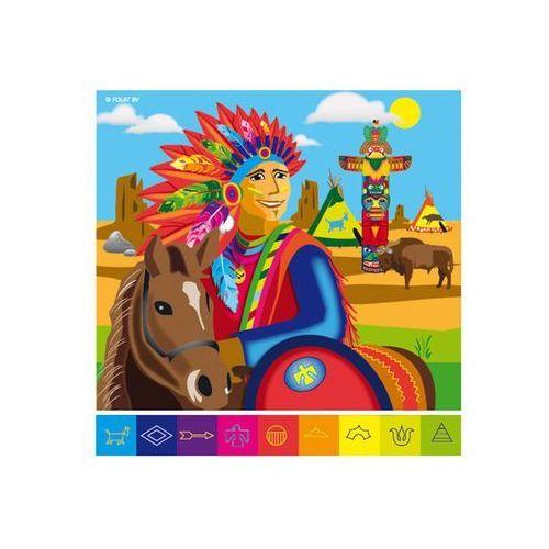 """Serwetki """"Indianie"""", mix, FOLAT, 33 cm, 20 szt (8714572261029)"""