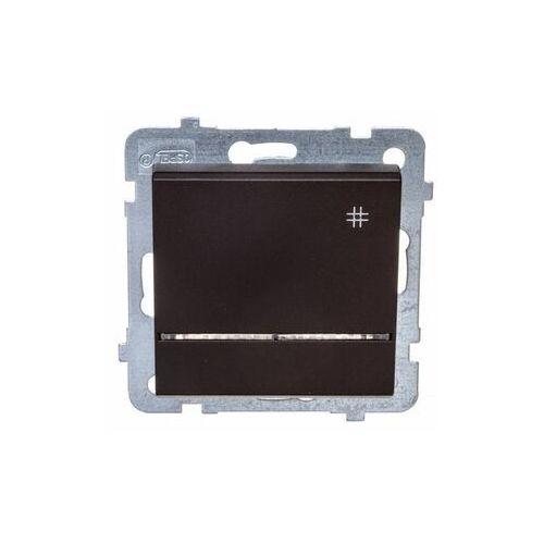 Łącznik krzyżowy z podświetleniem Czekoladowy metalik - ŁP-4RS/m/40 Sonata, ŁP-4RS/M/40