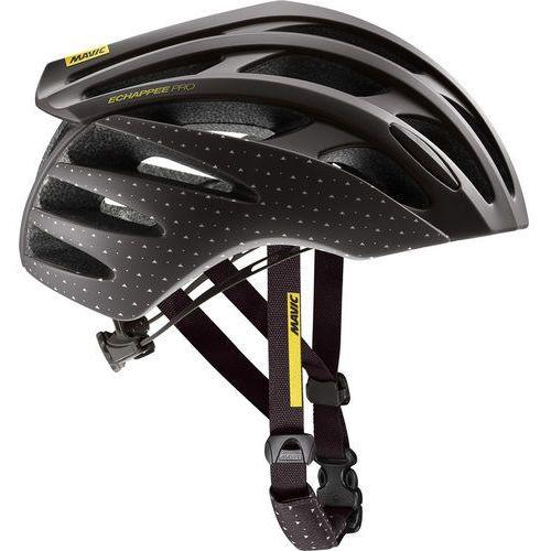 echappée pro kask rowerowy kobiety czarny m | 54-59cm 2018 kaski szosowe marki Mavic