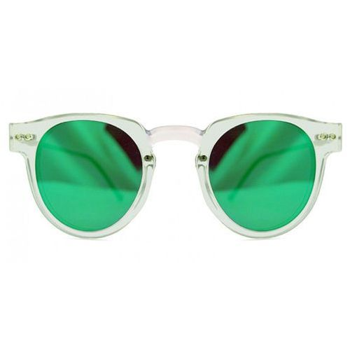Okulary Słoneczne Spitfire Sharper Edge Select Double Lens Clear/Clear/Green Mirror