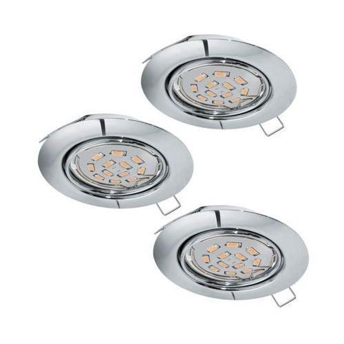 EGLO PENETO 3x Lampa oczko GU10-LED 3X5W 94407