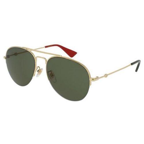 Okulary Słoneczne Gucci GG0107S 004, kolor żółty