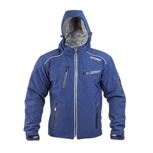 W-tec Męska kurtka motocyklowa softshell tomwald nf-2700, niebieski, xxl