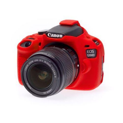 EasyCover osłona gumowa dla Canon 1200D/T5 czerwona