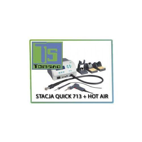 Stacja lutownicza Quick 713 + Hot Air, BDA8-896F6