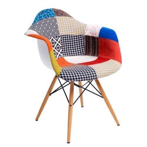 Krzesło P018 PATCHWORK - inspiracja DAW, P018-patchwork