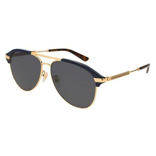 Okulary słoneczne gg 0288sa asain fit 001 marki Gucci