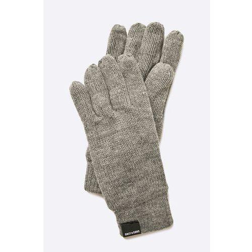- rękawiczki marki Only & sons