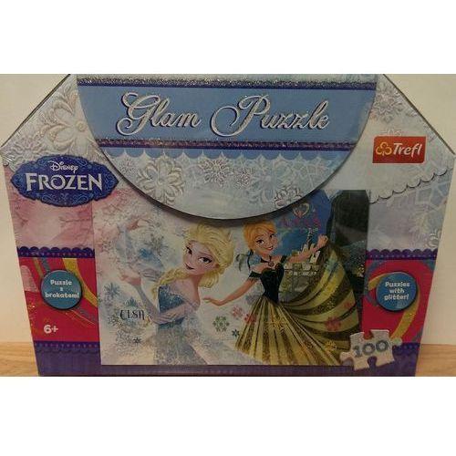 Glam Puzzle - Frozen TREFL, 5900511148114_753458_001