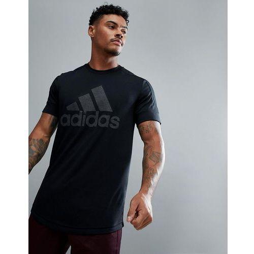 athletics logo t-shirt in black ce2198 - black marki Adidas