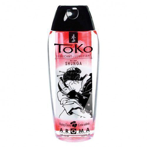 Lubrykant smakowy -  toko lubricant cherry czereśnia, marki Shunga