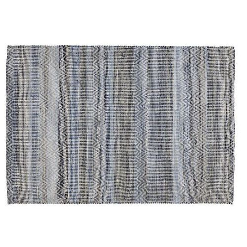 Dywan FERIEL – Wełna i bawełna – 160 × 230 cm – Kolor niebieski